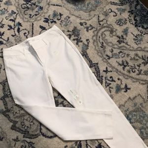 Old Navy white ankle pants